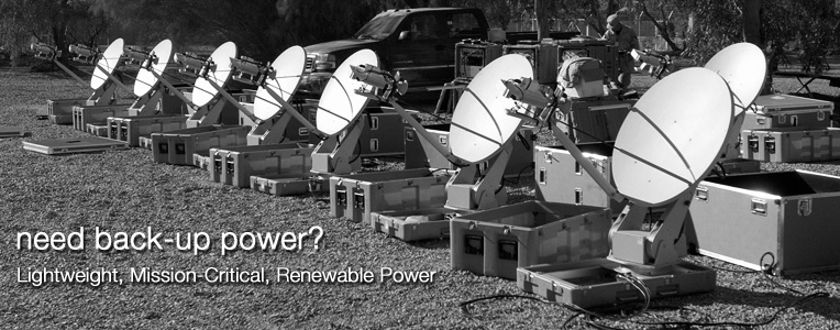 Need Back-Up Power? Lightweight, Mission-Critical, Renewable Power